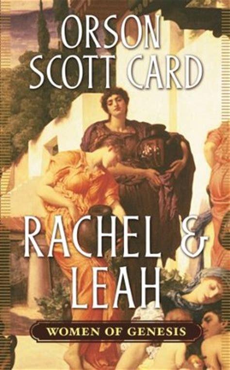 rachel leah women  genesis   orson scott card
