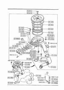 1987 Mazda B2600 Valve  Air Control  Gasoline