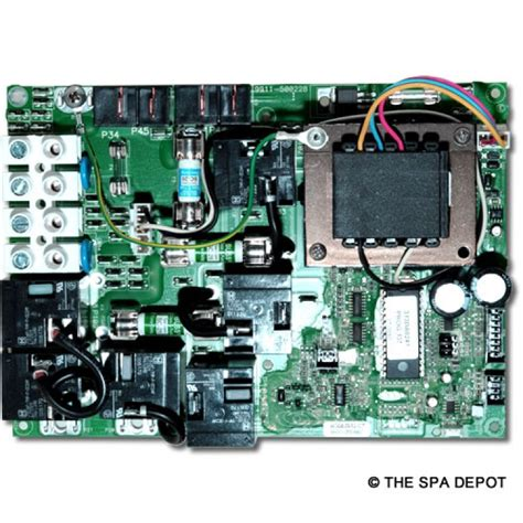 Gecko Spa Circuit Board For Hydroquip Easypak
