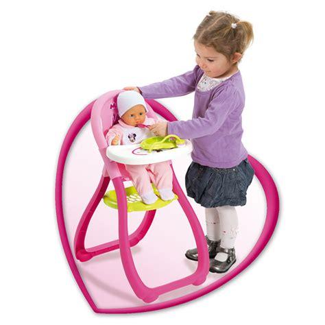 chaise haute jouet club chaise haute minnie smoby king jouet accessoires de poup 233 es smoby poup 233 es peluches