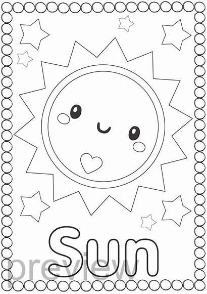 Space Coloring Theme Different Fill Teacherspayteachers Solar