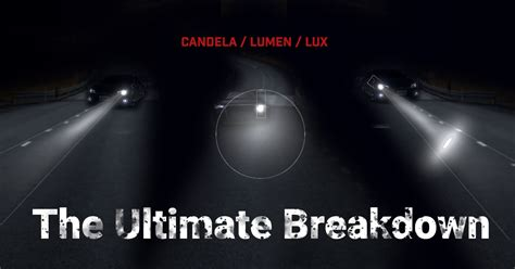 Lumen Candela by The Ultimate Breakdown Candela And Lumens Opt7