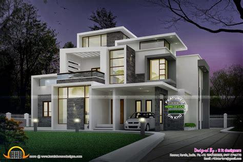 Home Design Journal :  Grand Contemporary Home Design Kerala Home