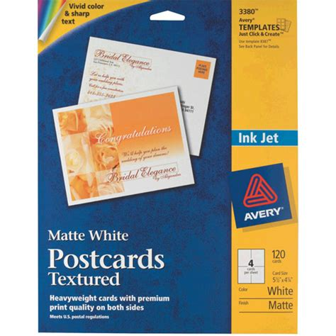Microsoft Word Postcard Template 4 Per Page Heybittorrent Avery Postcards 4 To Page Images