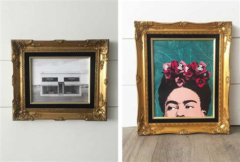 20+ Creative Diy Picture Frames For Your Home Diy Denim Overall Dress Lion Costume Simple Electronics Henna Tattoo Ink Chocolate Bouquet Tutorial Lowes Horseshoe Pit Boy Birthday Gifts Studio Shed Plans