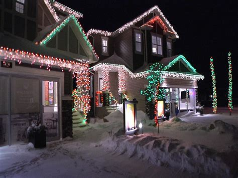 the ultimate calgary christmas lights map calgary herald