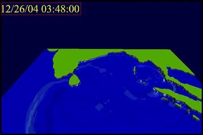 Tsunami Indian Ocean Wave Propagation Giphy Storm