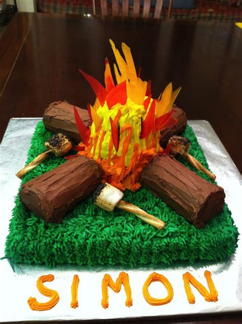 campfire cake cakecentralcom