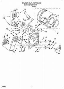 31 Roper Dryer Parts Diagram