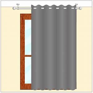 Poser Des Rideaux : poser une tringle au plafond rideaux ~ Nature-et-papiers.com Idées de Décoration