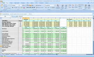 Business Plan Template Excel Spreadsheet