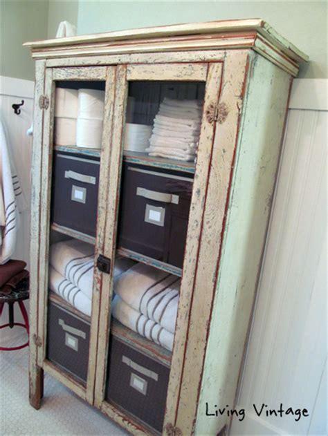 vintage bathroom storage ideas antique bathroom cabinets storage antique furniture