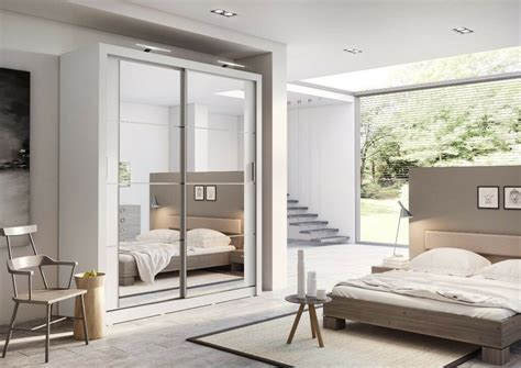 5 Ft Wide Wardrobes by New Free Standing 6ft Wide 7ft Mirror Sliding Door