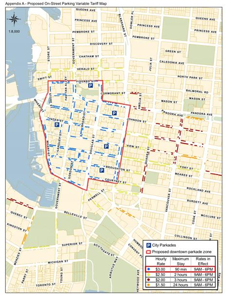 parking recommendations victoria