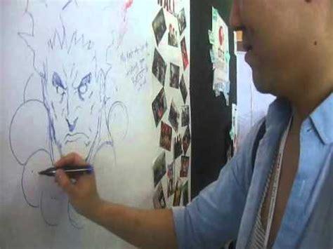 mefcc  alvin lee drawing akuma  abu dhabi anime