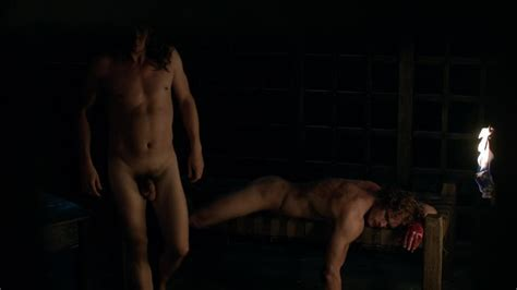 Provocative Wave For Men Tobias Menzies And Sam Heughan Sex Scene In Outlanders
