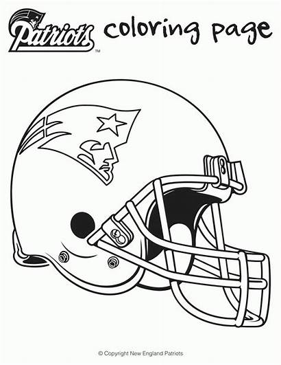 Coloring Pages Bowl Super Football Sheets Popular