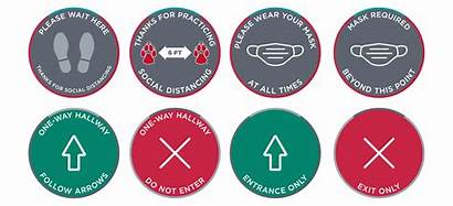 Covid Signage Safe Practices Signs Floor Order