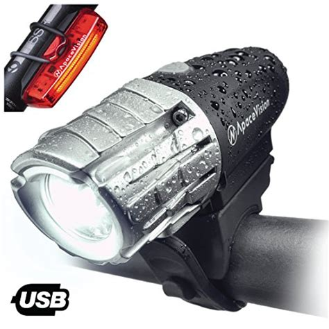bright eyes bike light charger apace eagle eye x usb rechargeable bike light set