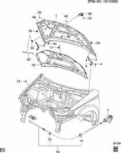 Chevrolet Aveo Latch  U0026 Control  Hood