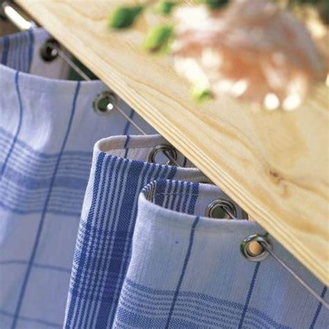 curtain drape wire rod set with 24 clips multi purpose set