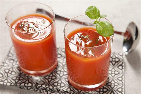 blender cuisine gaspacho express tomate basilic les fruits et légumes frais