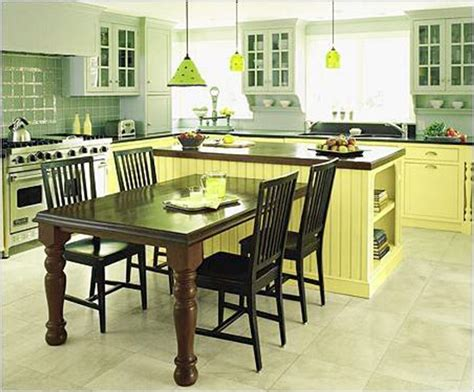 island kitchen table combo 50 beautiful kitchen table ideas ultimate home ideas 4835