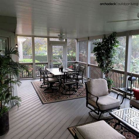top 25 ideas about screen porch flooring on
