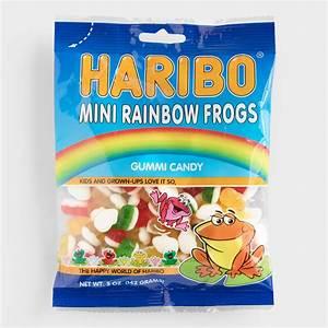 Haribo Mini Rainbow Frogs, Set of 12 World Market
