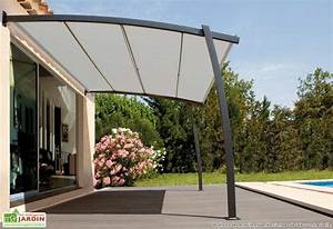 Tonnelle Pour Balcon : tonnelle fer forg murale 4x3m boreal toile rectractable ~ Premium-room.com Idées de Décoration