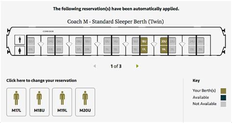 Sleeper Berth Layout by Caledonian Sleeper Discount Code 1 3 Cheap Tickets