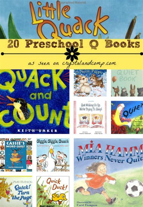books children must read letter q 475 | 20 Preschool Q Books collage