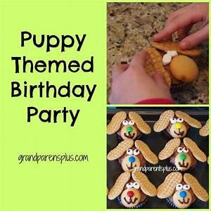 Puppy Themed Birthday Party - GrandparentsPlus com