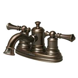 pegasus 67114 8096h estates handle centerset bathroom faucet in heritage bronze