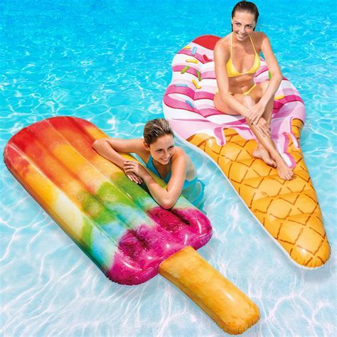 Intex Ice Cream & Popsicle Mat Swimming Pool & Beach Food