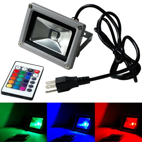 10 facts to about colored outdoor flood lights