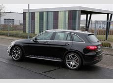MercedesAMG GLC 63 Test Prototype Seen for the First Time