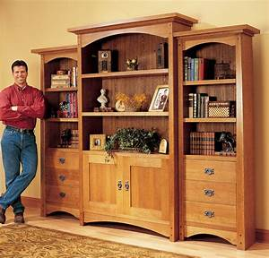 Bookcase Plans : Transform Your Home With Custom Woodwork