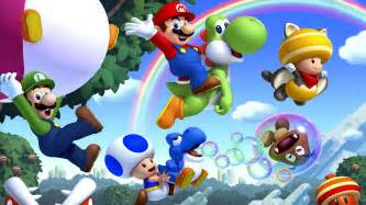 paper fan backdrop mario bros hd wallpaper and background