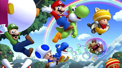 126 Super Mario Bros Hd Wallpapers Background Images