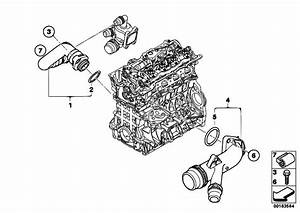 Original Parts For E46 316ti N42 Compact    Engine   Cooling
