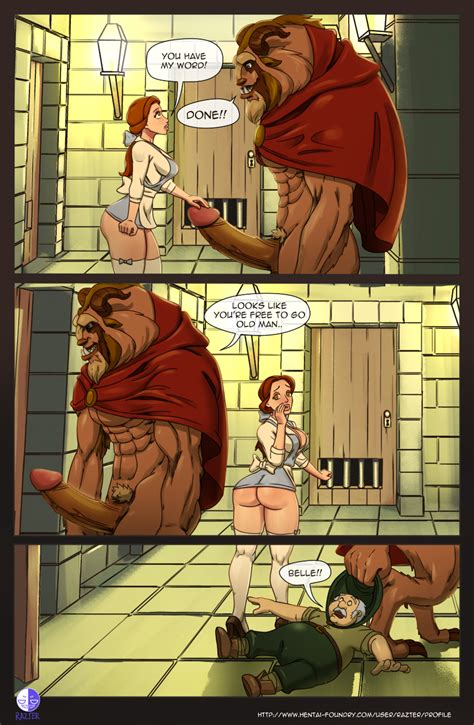 Booty And The Beast Page 4 By Razter Hentai Foundry