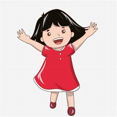 Excited Happy Illustration Clipart Child Holiday Psd