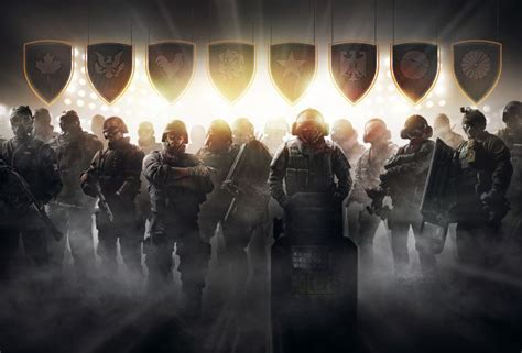 Заставка, обои игры Tom Clancy's Rainbow Six Pro League
