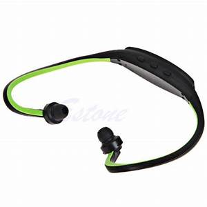 For Gym Running Jogging Sports Mp3 Headphones Music Player Wireless Earphones