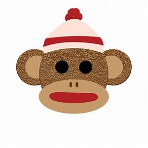 Delightful digitals what39s coming for Sock monkey face template