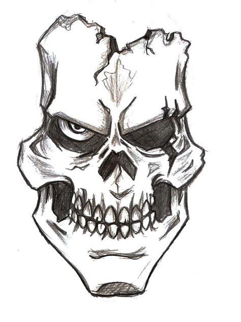 Assassin Skull Drawings Bing Images Skulls Skeletons