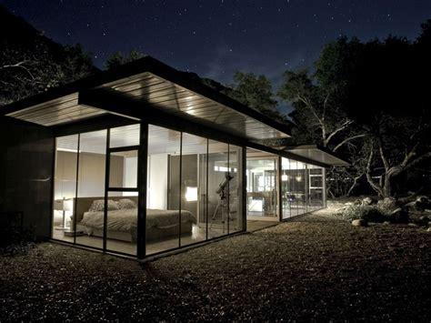 glass home  river night sky privacy vrbo