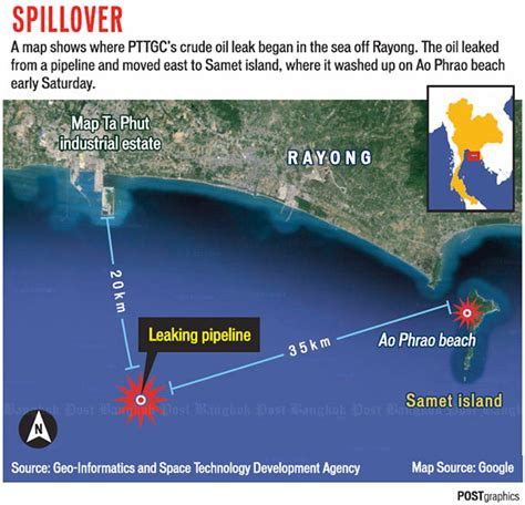 PTTGC faces Samet spill legal action ~ Dawei (Tavoy) Deep Seaport Development Project
