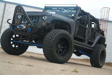 jeep blue and black 2012 black blue fmj jeep pdm conversions